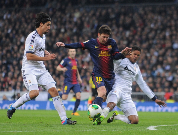 Real Madrid CF v FC Barcelona - Copa del Rey - Semi Final First Leg