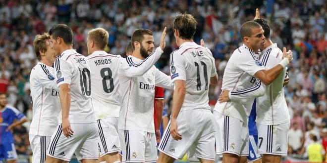 Real Madrid – Basel (5-1), 2014.09.16., Bajnokok Ligája