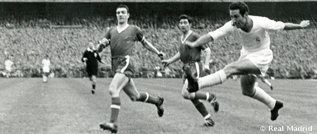 Gento, az egyetlen játékos aki hat alkalommal is megnyerte a legrangosabb európai kupasorozatot.