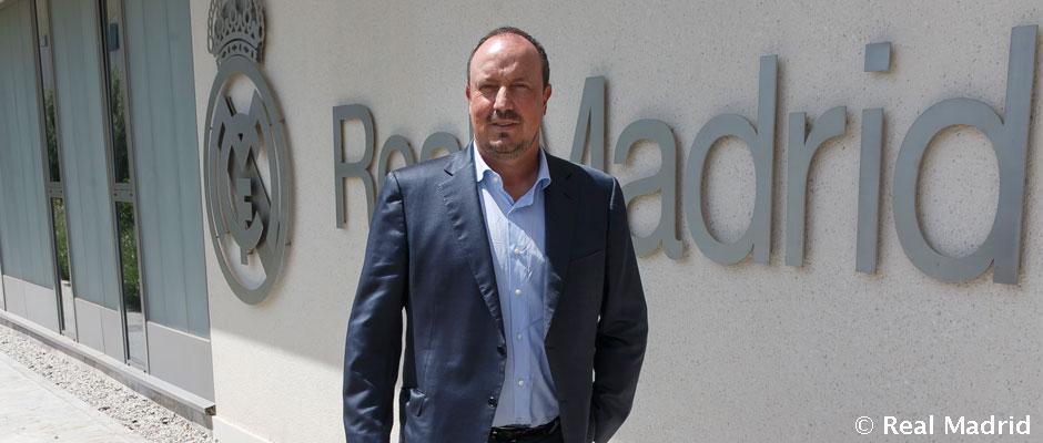Rafa Benítez, a Real Madrid 2015-ben kinevezett vezetőedzője