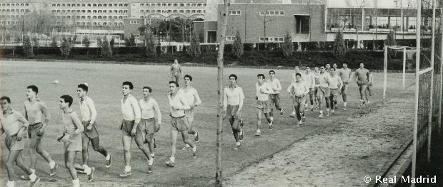 Egy edzés régen.