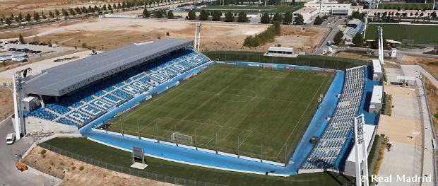 Az Alfredo Di Stéfano stadion madártávlatból