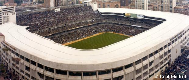 A Santiago Bernabéu az 1982-es Világbajnokságon